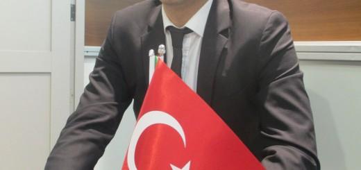 مراد استوک ارزیاب وزارت بازرگانی ترکیه در نمایشگاه چاپ و بسته بندی