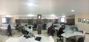 فضای بخش مطالعات و طراحی شرکت فنی و مهندسی طرسام
