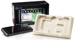 کامپیوتر عظیم Dell از بستهبندیهای بامبو برای 70 درصد از محصولات نوتبوک خود استفاده میکند، و همچنین کشفکردهاست پوستهپوستهشدن به خاطر قارچ یک گزینه برای بستهبندی میباشد.