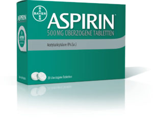 Bayer führt neue Generation der Aspirin Tablette ein