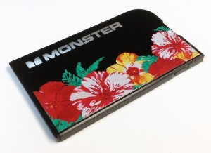 iranpack-156-Roland-cascade-graphics-and-design-used-a-roland-versauv-lec-series-uv-printercutter-to-print-a-floral-pattern-directly-on-a-power-card-for-san-francisco-based-monster-products