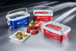 iranpack sanat bastebandi 180 Shellfish Container is Ideal for Branding