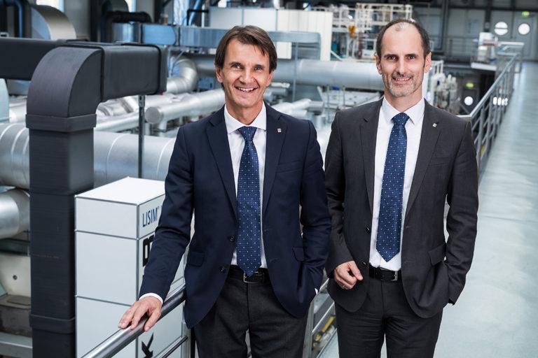 Markus Gschwandtner and Tobias Fuchs - Managing Directors Brückner Servt...